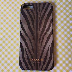 Coach Animal Print IPhone 5 Case